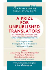 Peirene Stevns Translation Prize