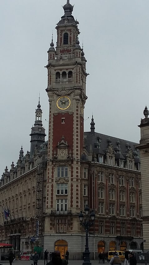 Lille Post Office tower