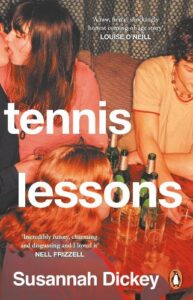 Cover image for Tennis lessons by Susannah Dickey