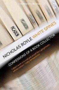 Cover image for White Spines by Nicholas Royle