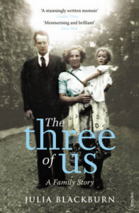 Cover image for The Three of Us by Julia Blackburn